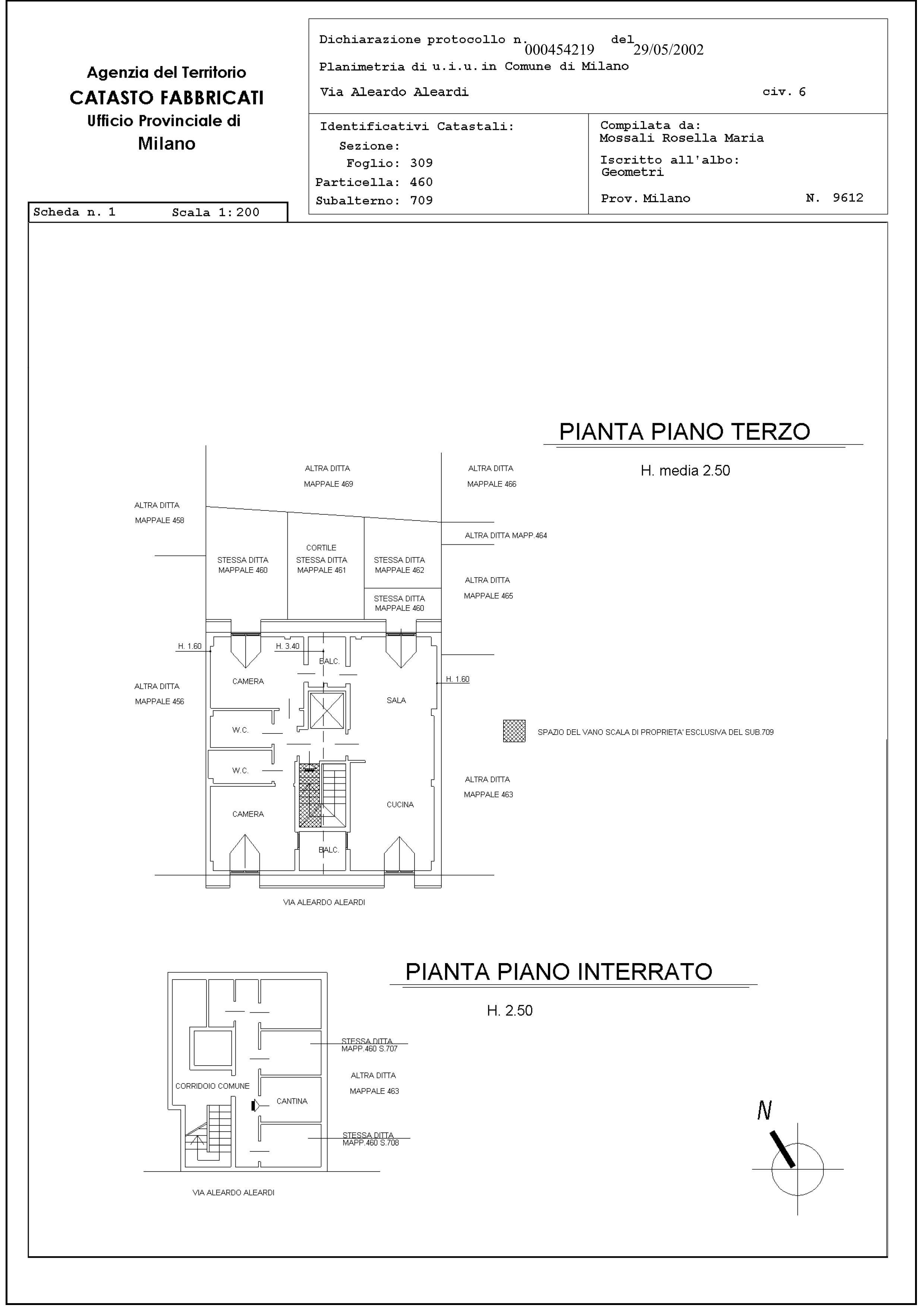 Docfa milano aggiornamento catastale 200 studio for Come disegnare le planimetrie online