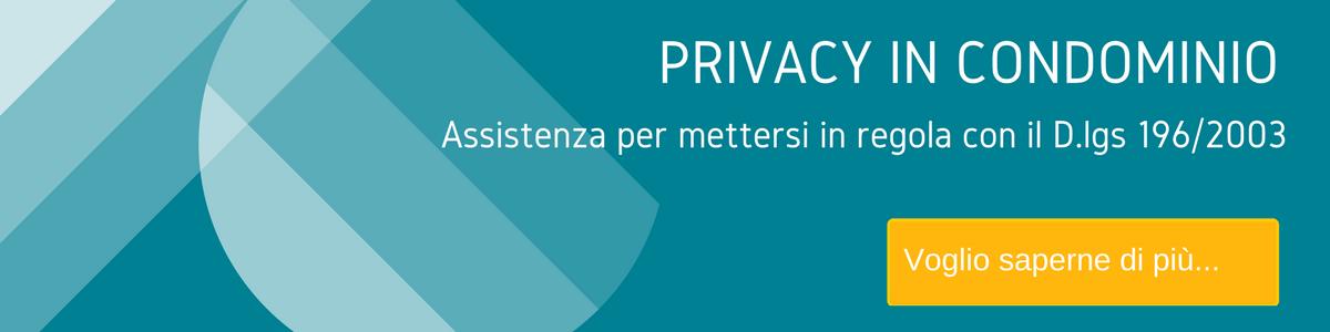 Offerta privacy in condominio